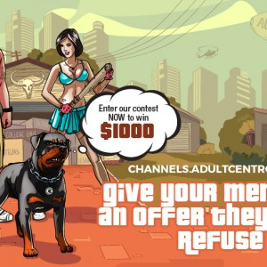 Give your members an offer they can't refuse. Channels.AdultCentro.com